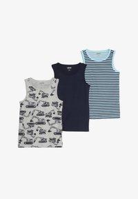Zalando Essentials Kids - 3 PACK - Undershirt - peacoat/cerulean - 4