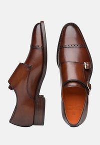 SHOEPASSION - NO. 5424 - Smart slip-ons - brown - 1
