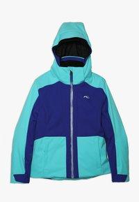 Kjus - GIRLS ARINA JACKET - Ski jacket - wintersky/my sea - 0