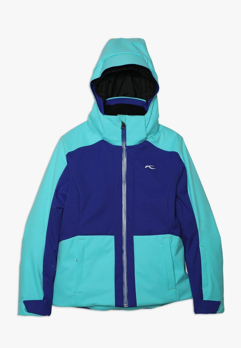 Kjus - GIRLS ARINA JACKET - Ski jacket - wintersky/my sea