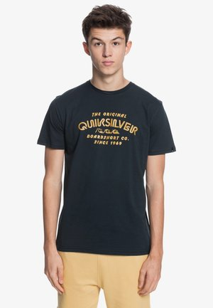 WIDER MILE - Print T-shirt - black