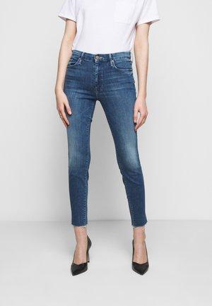 LOOKER ANKLE FRAY - Skinny džíny - blue denim