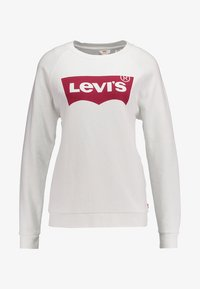 Levi's® - RELAXED GRAPHIC CREW - Bluza - better batwing white - 6