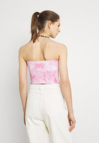 Hollister Co. - REVERSIBLE TUBE - Top - neon pink - 2