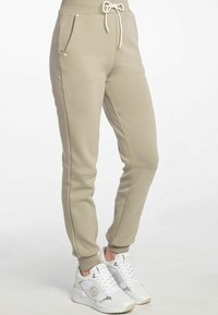 Guess - ABBY LONG  - Tracksuit bottoms - beige - 3
