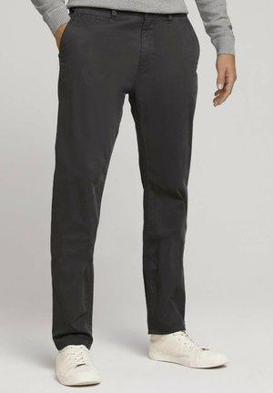 SATIN  - Trousers - tarmac grey