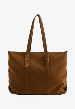 CARLA - Shopper - tobaksbrun