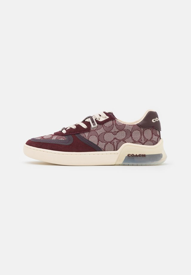 CITYSOLE COURT - Sneakers laag - burgundy