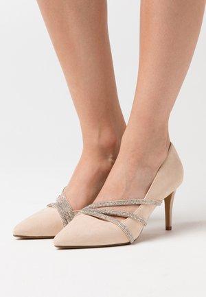 MAGNA - Høye hæler - nude