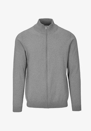 MIT STEHBUND - Zip-up sweatshirt - light grey