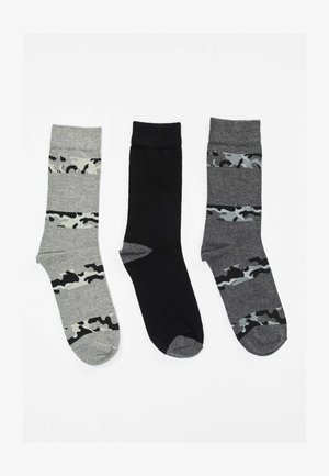 3 PAIRS PACK - Socks - grey