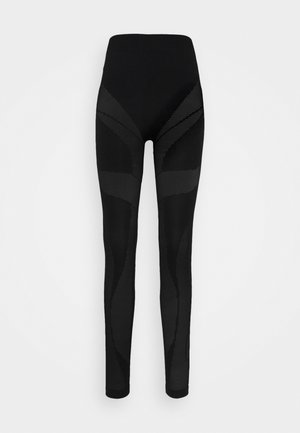 UFLB-LEGGINGS-SML TROUSERS - Leggings - Stockings - black