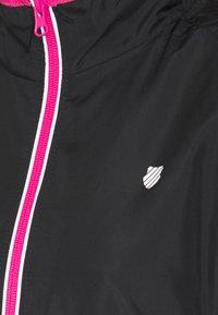K-SWISS - HYPERCOURT WARM UP JACKET - Sportovní bunda - black beauty - 2