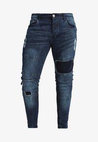 Brave Soul - SARNEN - Jeans Skinny Fit - dark blue - 5