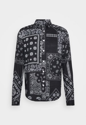 KELVIN - Shirt - black