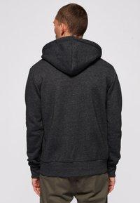 Superdry - Zip-up sweatshirt - dark grey - 2