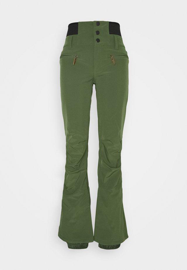 RISING HIGH - Snow pants - bronze green