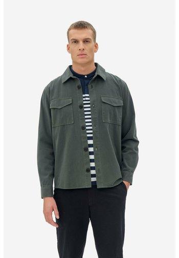 Summer jacket - mineral green