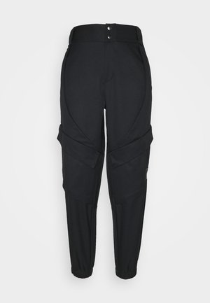 ESSEN UTILITY PANT - Cargo trousers - black