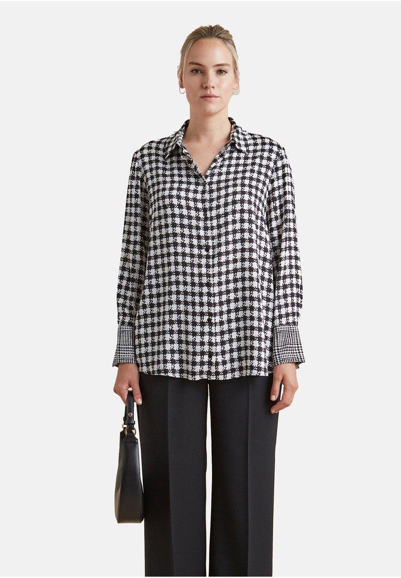 Elena Mirò - Button-down blouse - nero