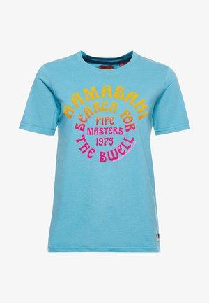 CALI SURF  - Print T-shirt - adriatic blue