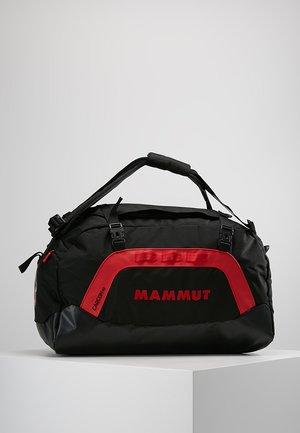 CARGON  - Sports bag - black/fire