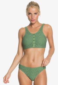 Roxy - LOVE SONG  - Bikinibroekje - vineyard green - 0