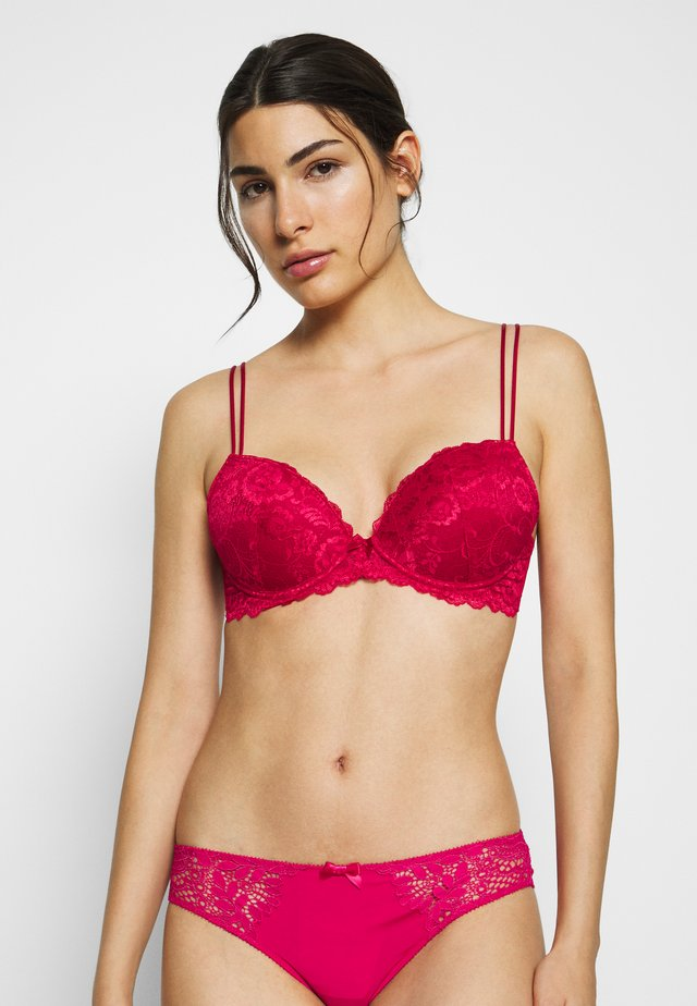 FANCY BRA - Push up -rintaliivit - red