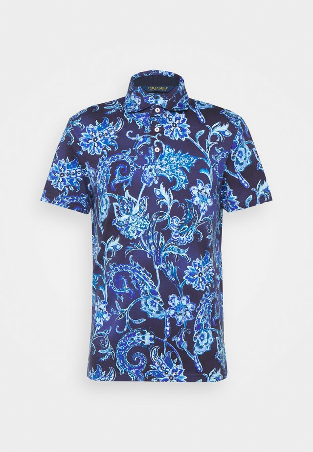 SHORT SLEEVE - Piké - french navy