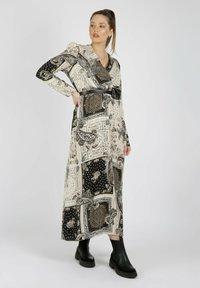 MiaZAYA - Maxi dress - creme - 0