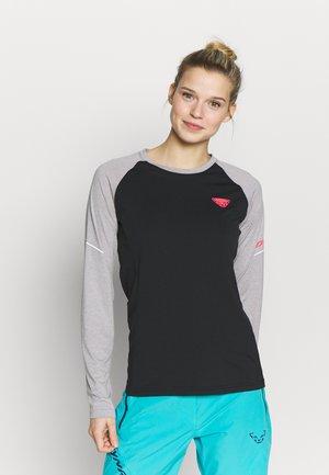 ALPINE PRO TEE - T-shirt sportiva - alloy melange