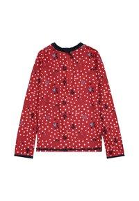 Steiff Collection - STEIFF COLLECTION UV SHIRT MIT UV-SCHUTZ - Rash vest - tango red - 1