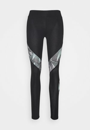 ONPJIM LIFE - Leggings - black/icy morn
