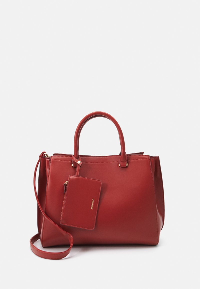Anna Field - SET - Tote bag - red