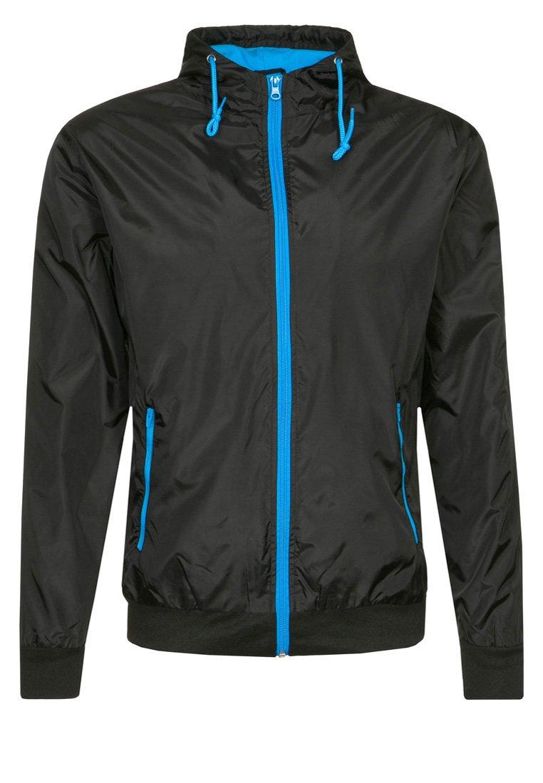 Urban Classics - Light jacket - black/turquoise