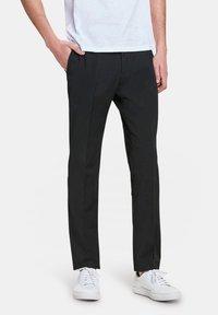 WE Fashion - DALI - Pantalon de costume - black - 0