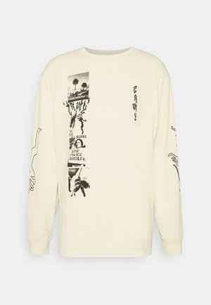YOGA FIRE LONG SLEEVE TEE - Maglietta a manica lunga - white