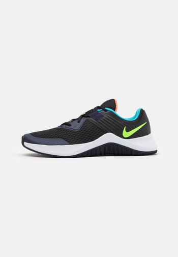 MC TRAINER - Sports shoes - black/electric green/blackened blue