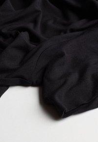 Intimissimi - LANGARM-SHIRT AUS MIKROMODAL MIT ROLLKRAGEN - Pyjama top - nero - 4
