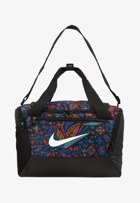 Nike Performance - XS DUFF  - Sports bag - black/hyper pink/white