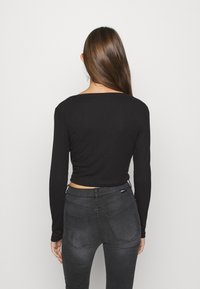 Monki - OVERA - Cardigan - black dark - 2