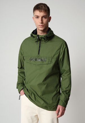 RAINFOREST CIRCULAR - Windbreaker - green cypress