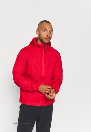 KAUKAS - Hardshellová bunda - classic red