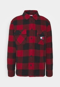 Tommy Jeans - UNISEX - Light jacket - wine red/black - 0