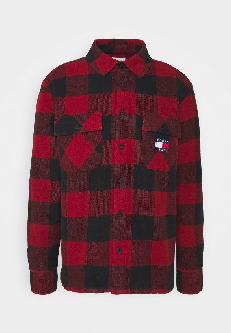 Tommy Jeans - UNISEX - Light jacket - wine red/black