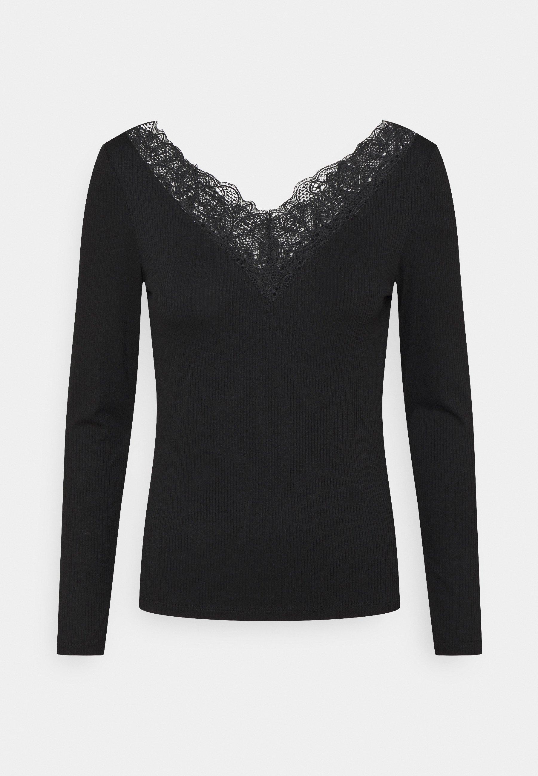 Women YASELLE V NECK PETITE - Long sleeved top