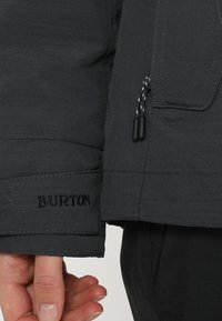 Burton - JET SET - Kurtka snowboardowa - true black heather - 7
