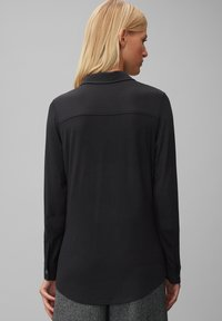 Marc O'Polo - Button-down blouse - black - 2