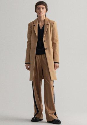 CLASSIC TAILORED - Classic coat - dark khaki