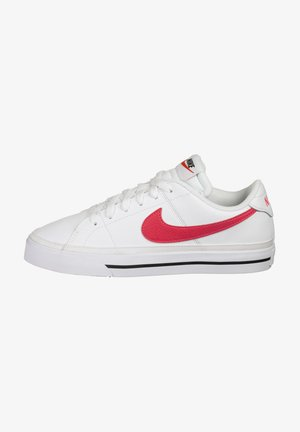 Trainers - white / siren red / black